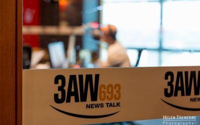 Radio 3AW Melbourne Afternoons with Denis Walter